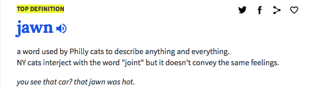 excerpt from Urban Dictionary