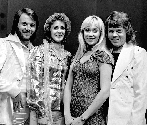 ABBA In 1974, The Year They Won The Eurovision With Their First Hit: Waterloo