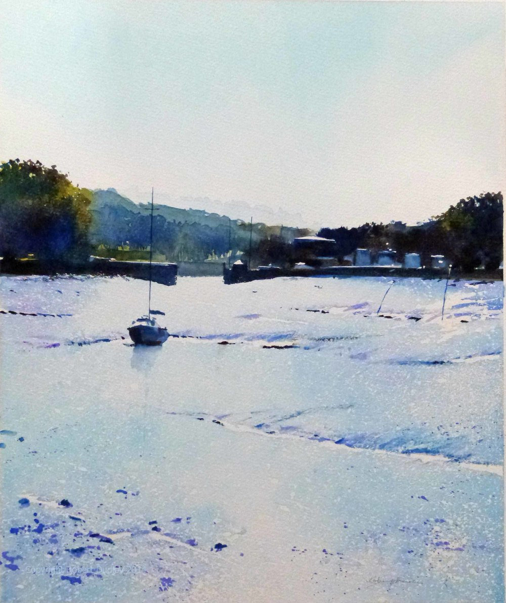 'Into the blue' Watercolour 12 x 15 inches