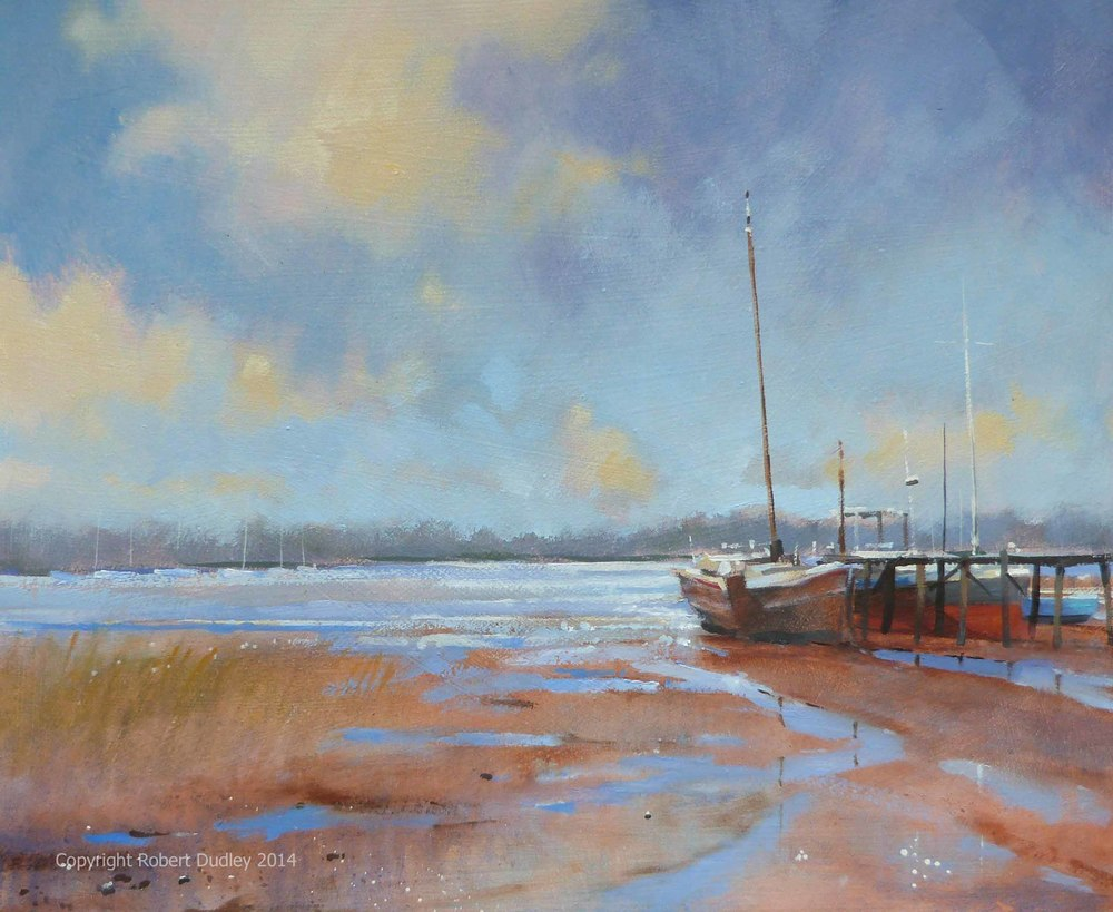 'Pin Mill' Oil 12 x 10 inches