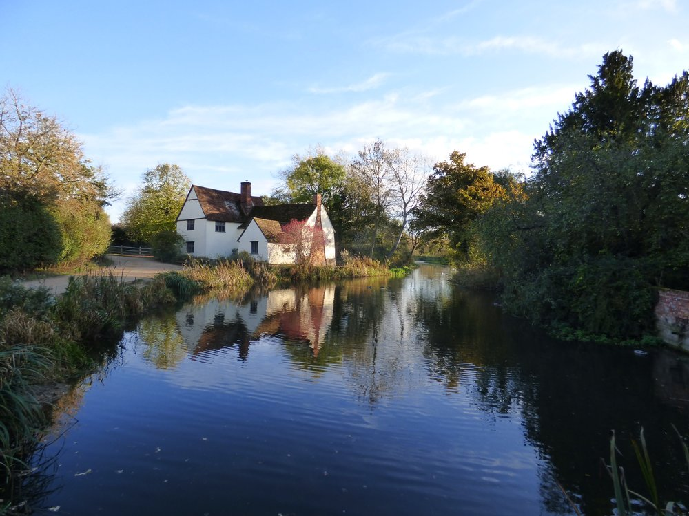 Willy Lots' House, Flatford Milll, Suffolk (photo © Siân Dudley)