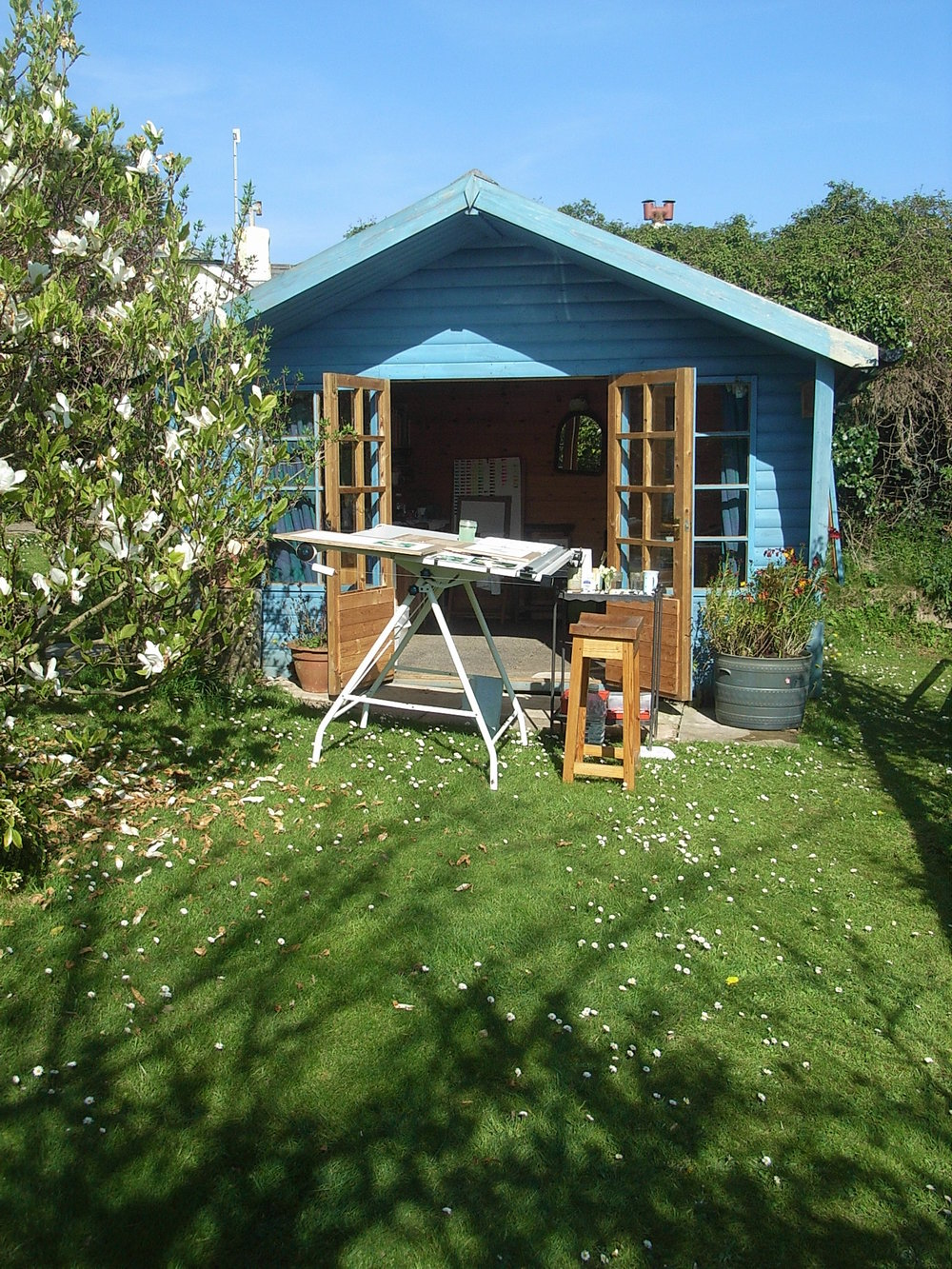 My Much Loved Garden Studio, so sad to be leaving.