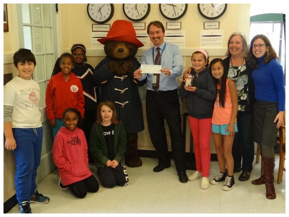 """Win a visit from Paddington. - Paddington is coming to Connecticut! Raise money for your local be homeful fund and win a visit from our """"spokesbear"""