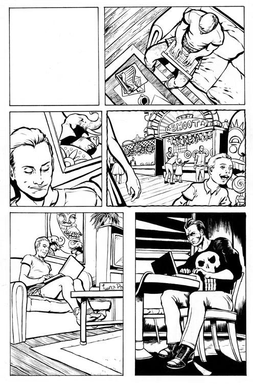 Punisher Comic