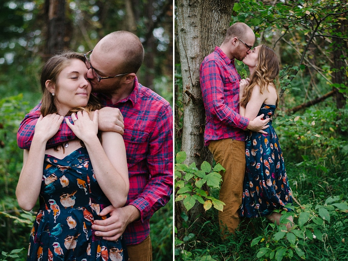 Rustic Outdoor Roanoke Engagement_0022
