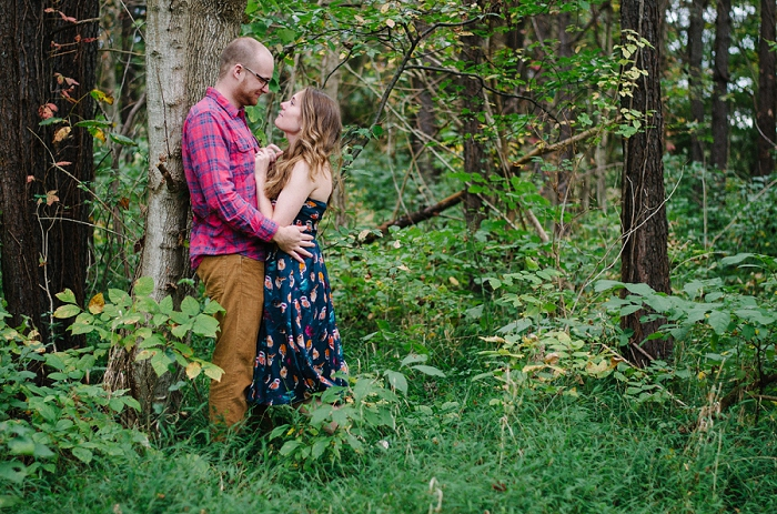 Rustic Outdoor Roanoke Engagement_0023