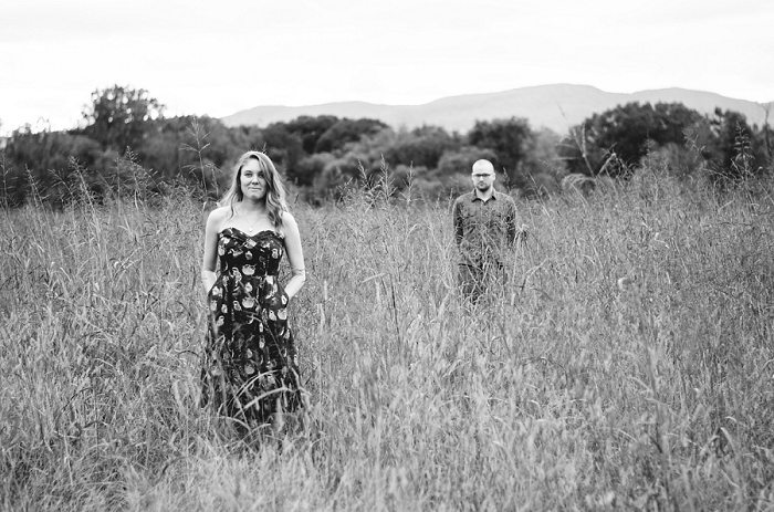 Rustic Outdoor Roanoke Engagement_0033
