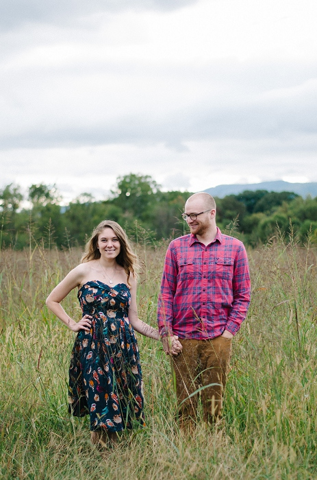 Rustic Outdoor Roanoke Engagement_0036