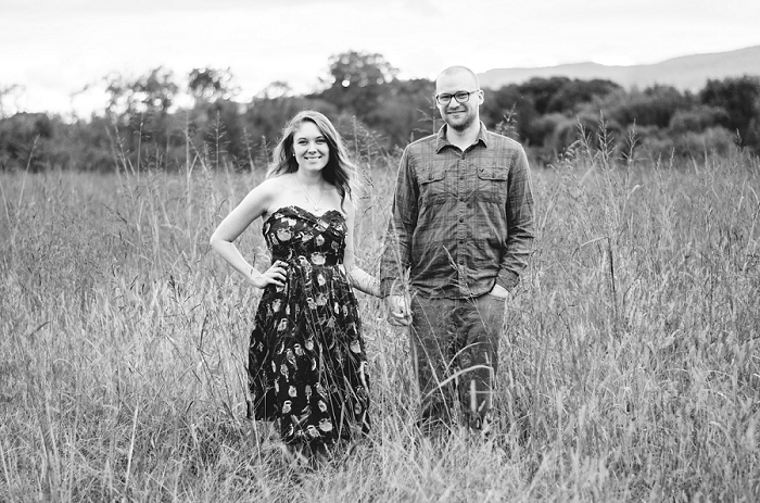 Rustic Outdoor Roanoke Engagement_0037