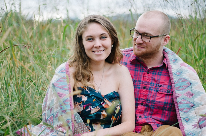 Rustic Outdoor Roanoke Engagement_0040