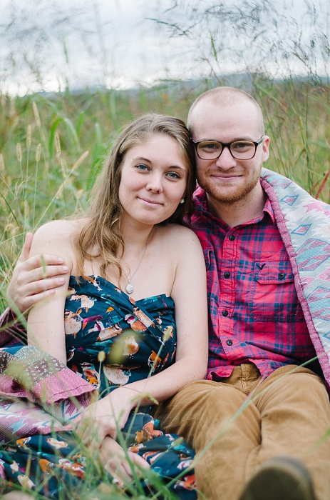 Rustic Outdoor Roanoke Engagement_0041
