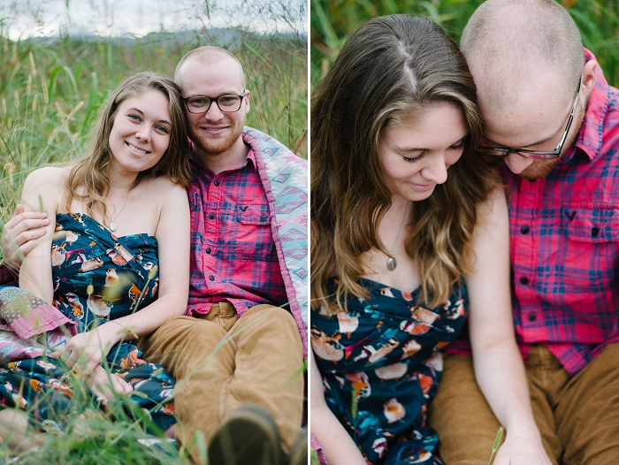 Rustic Outdoor Roanoke Engagement_0042