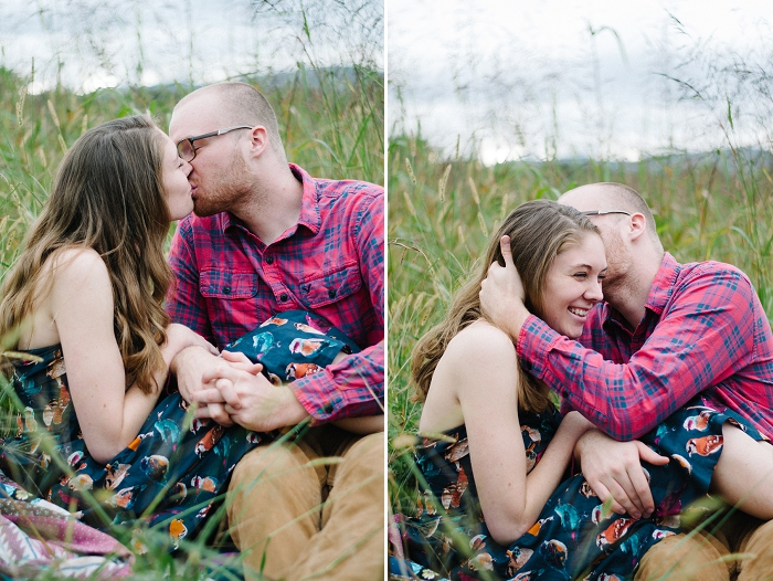 Rustic Outdoor Roanoke Engagement_0045