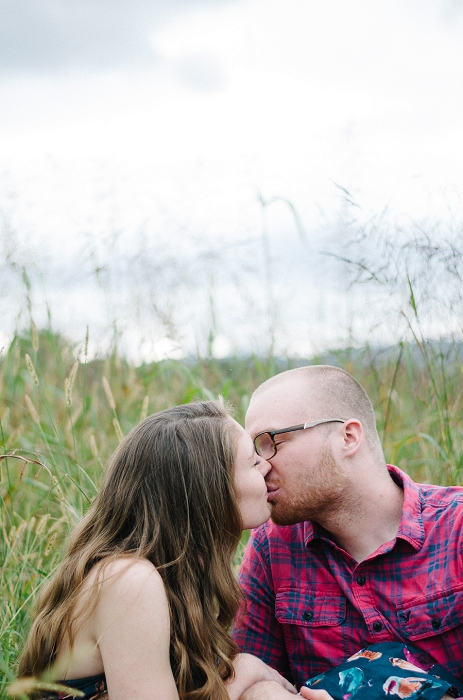 Rustic Outdoor Roanoke Engagement_0046