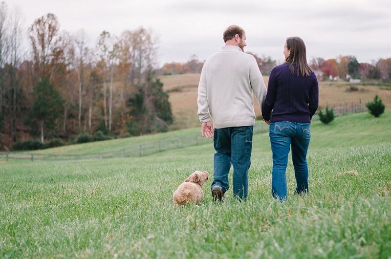 Charlottesville Virginia Rustic Engagement Photos_0016