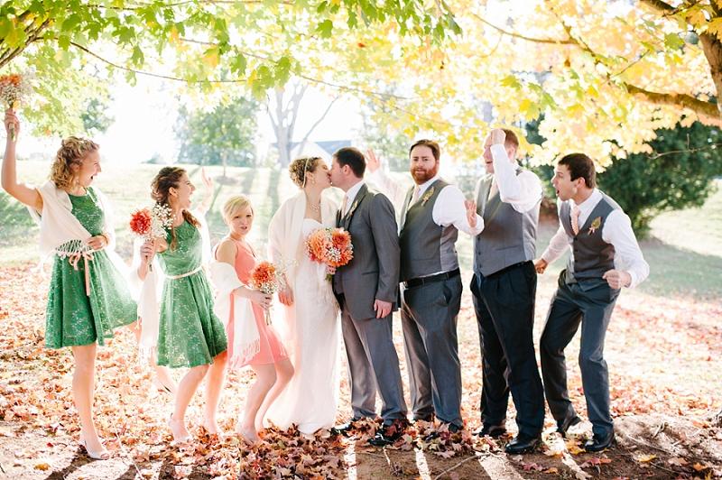 Colorful Fall Wedding, Lynchburg VA Wedding Photographer_0018