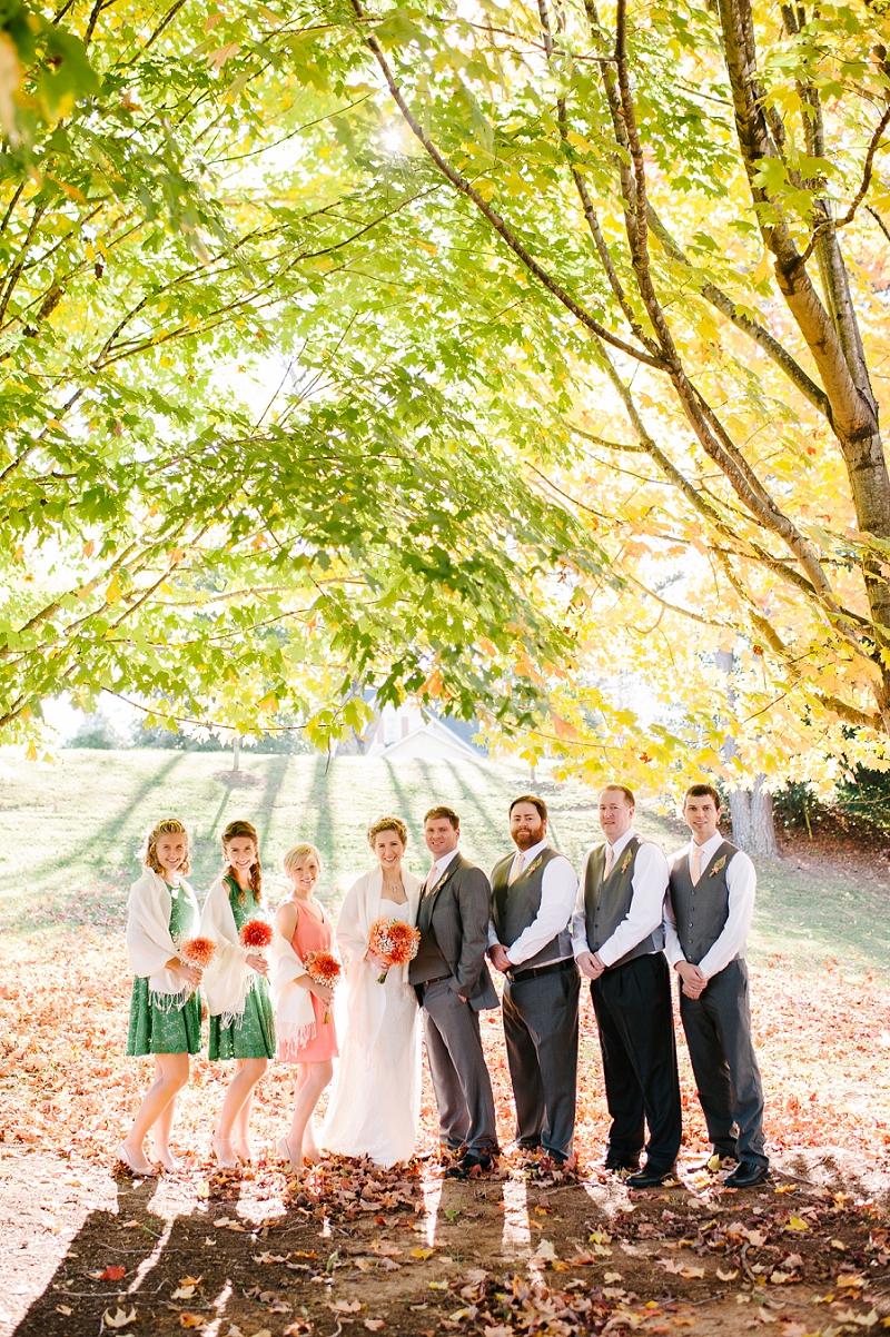 Colorful Fall Wedding, Lynchburg VA Wedding Photographer_0019