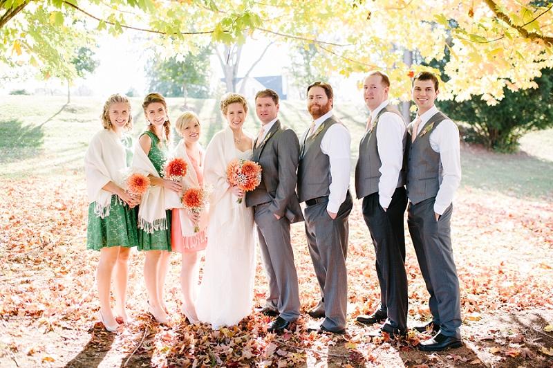 Colorful Fall Wedding, Lynchburg VA Wedding Photographer_0020