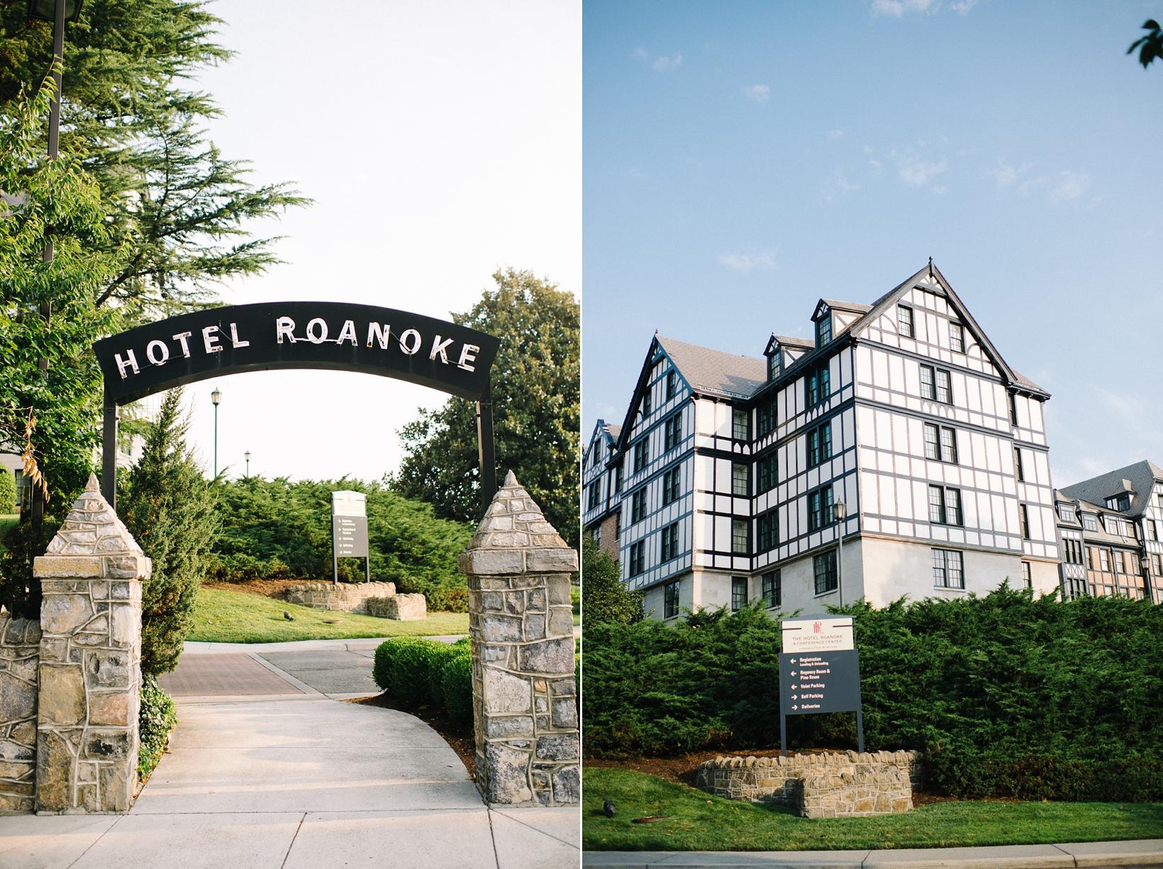 Hotel Roanoke Virginia Wedding-3