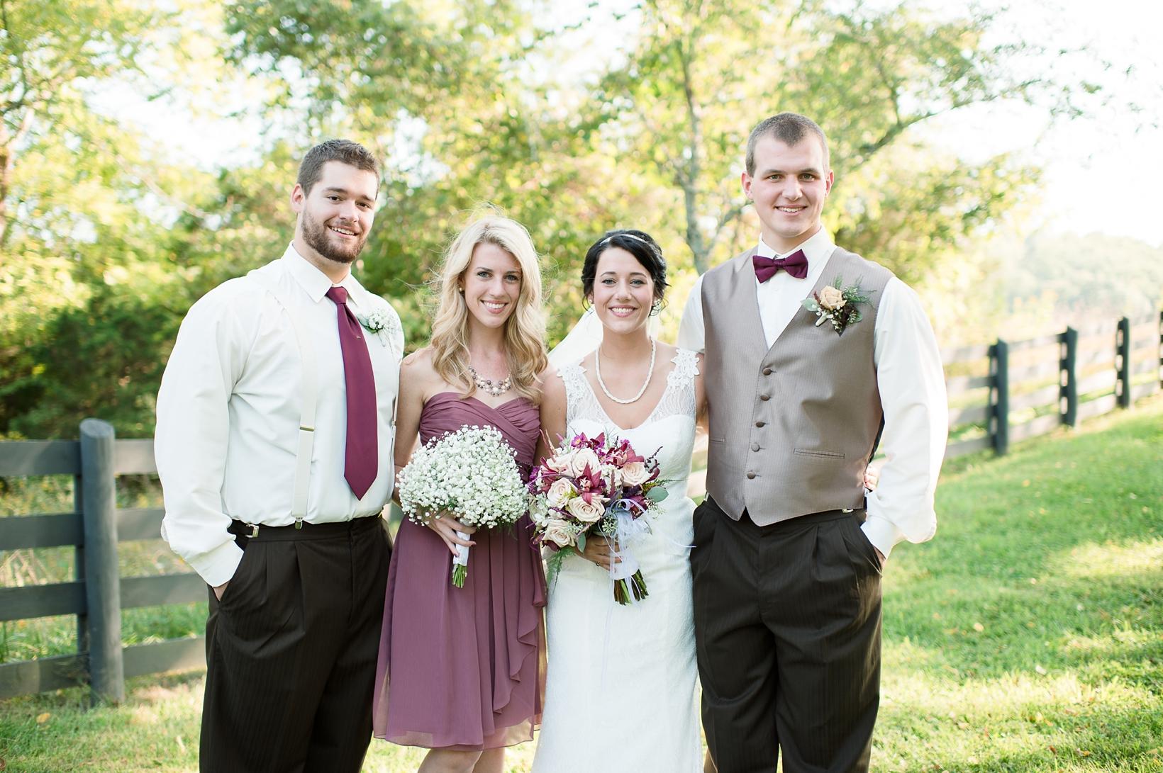 Rustic Virginia Wedding, Selah Springs Farm 49