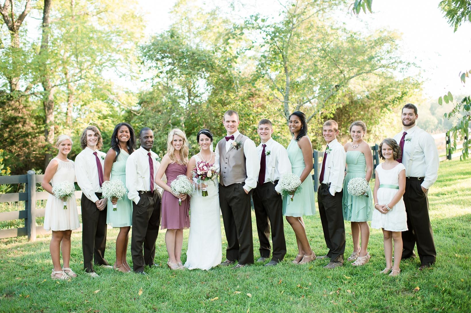 Rustic Virginia Wedding, Selah Springs Farm 52