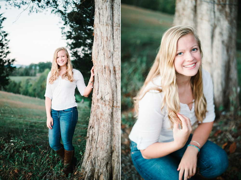 Charlottesville Senior Photographer