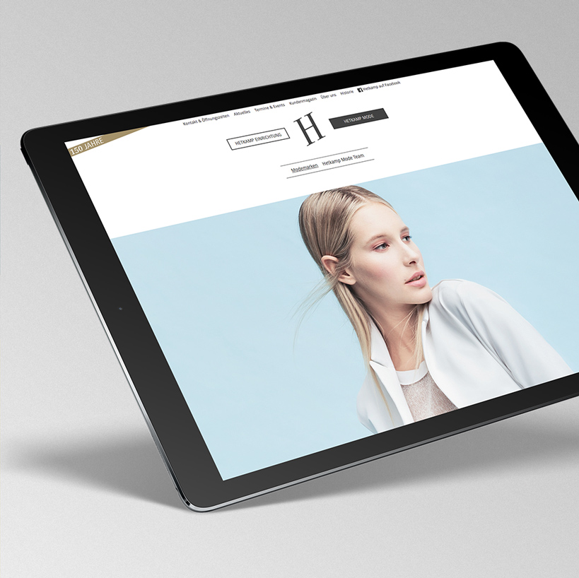 Hetkamp– Responsive Website