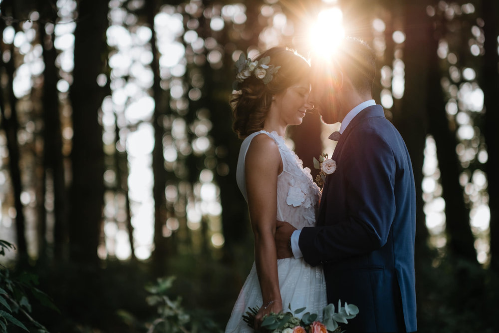 A WEDDING INTO THE WOODS -