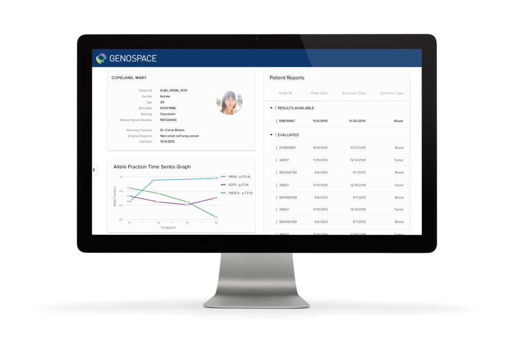 Genospace Physician Portals: Interactive report delivery and insights