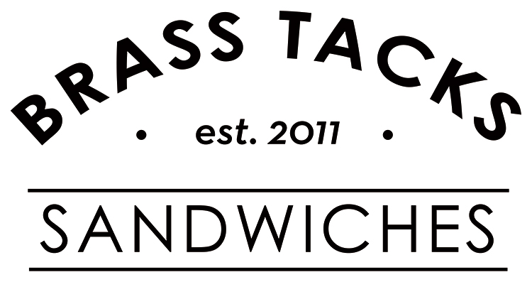 We're a fun-loving sandwich shop in North Portland. We make stuff from scratch and offer a range of responsibly-sourced meats, as well as house-made vegan and gluten-free options! We source our ingredients locally whenever possible. We have delicious sandwiches, the best homemade pickles, and an amazing, friendly staff! Get down to Brass Tacks!