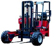 Moffett M5500 Trailer Mounted Forklift