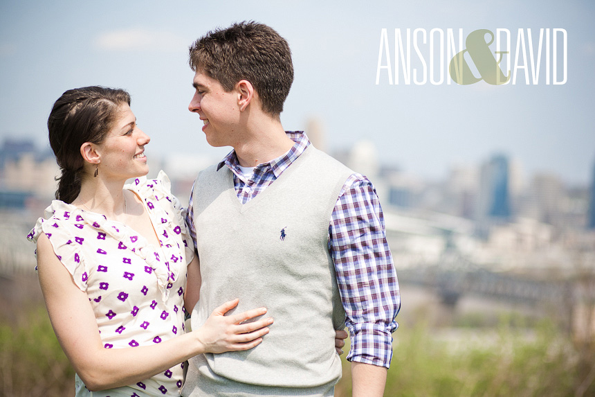 Cincinnati Engagement Photographers :: Anson + David :: Devou Park