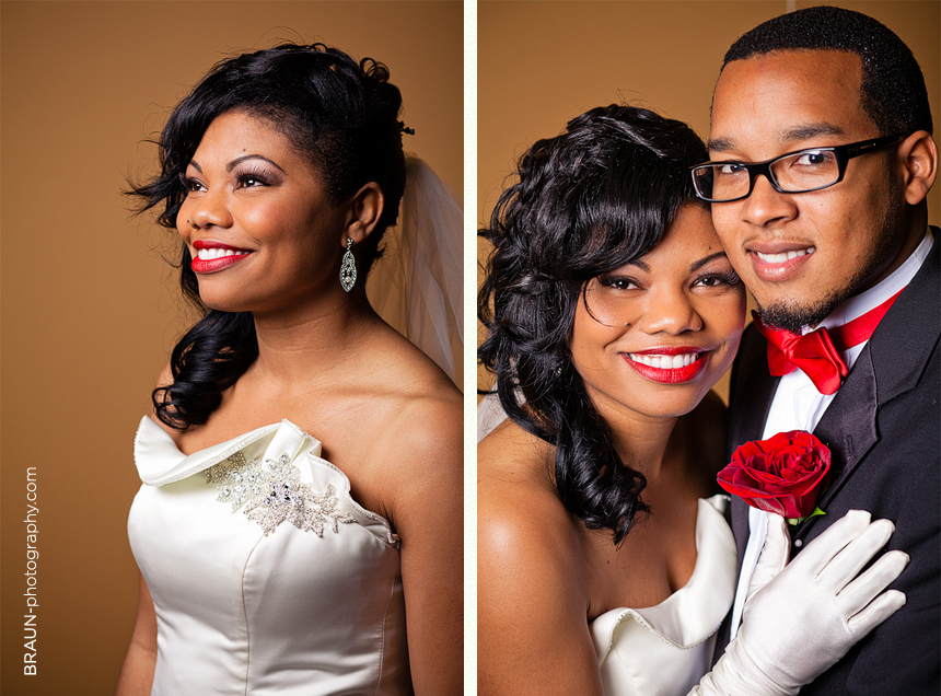 Columbus Ohio Wedding Photographer :: Beautiful Bride and her Groom