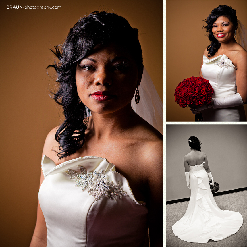 Columbus Ohio Wedding Photographer :: Beautiful Bride and her Wedding Dress