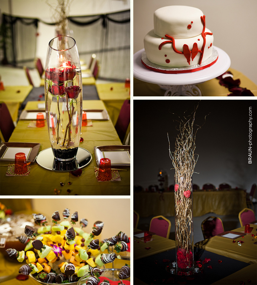 Columbus Ohio Wedding Photographer :: Wedding Decorations and Reception Details
