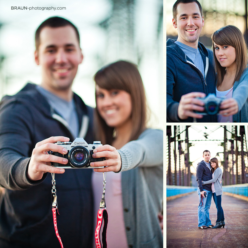 St. Louis Couple Photographers : Chain Of Rocks Bridge