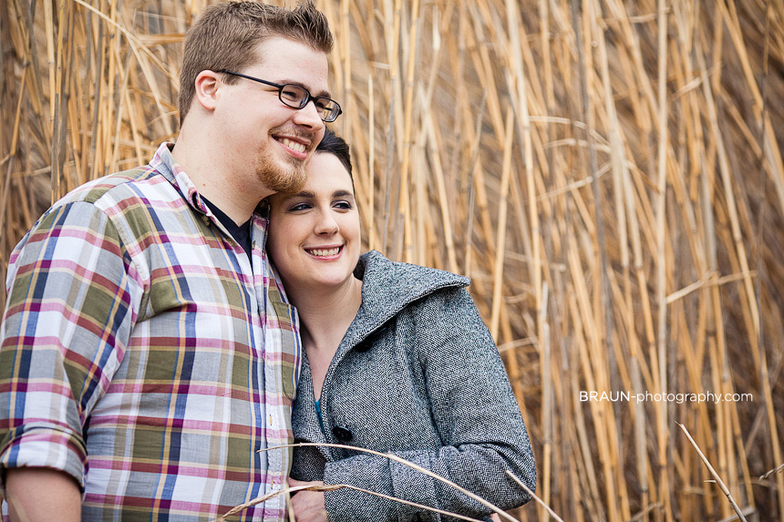 St. Louis Engagement Photographer :: Wild Grass