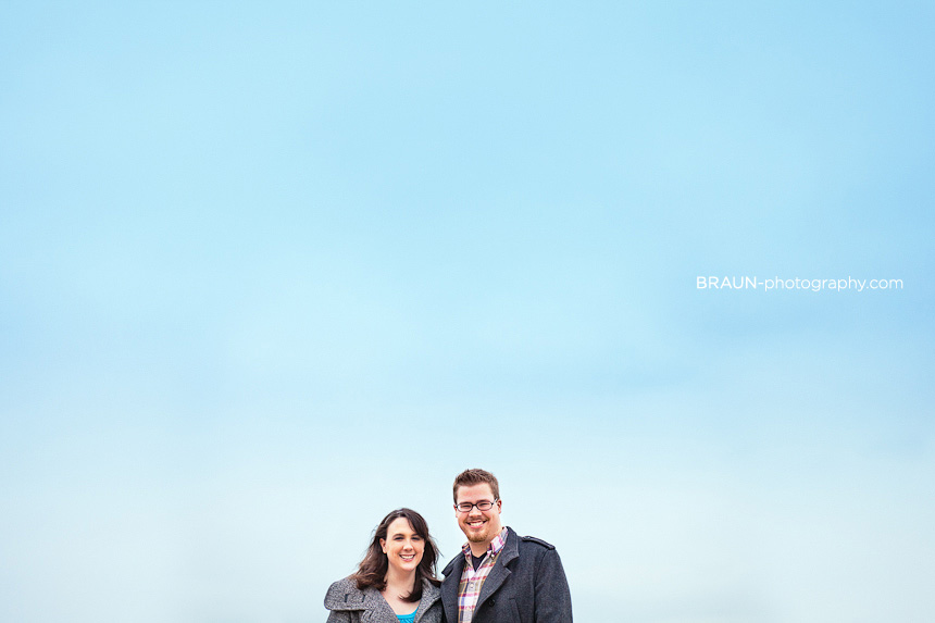 St. Louis Engagement Photographer :: Blue Sky at Forest Park