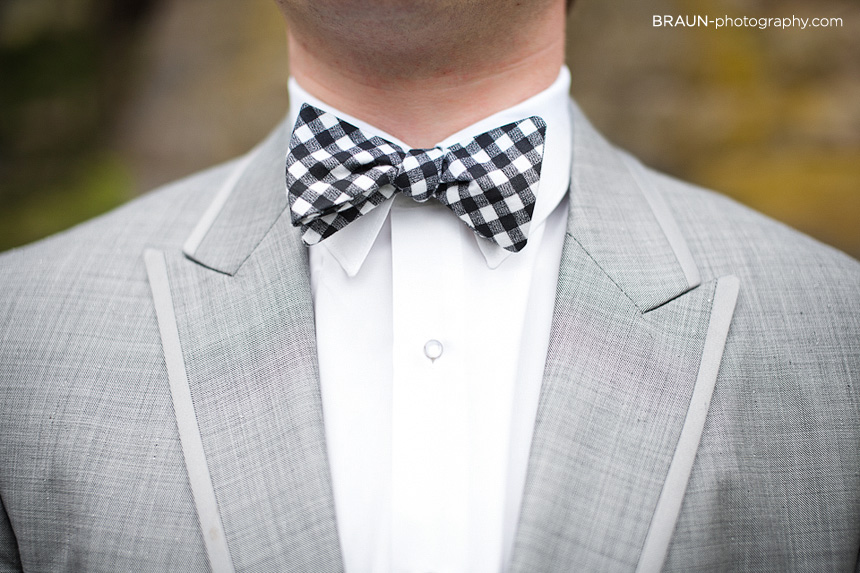 Dayton Wedding Photographers :: Bow Tie Tuxedo