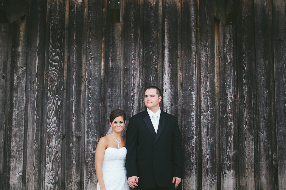 Danielle and Kevin's Dayton Ohio Wedding - Bride and Groom Portraits