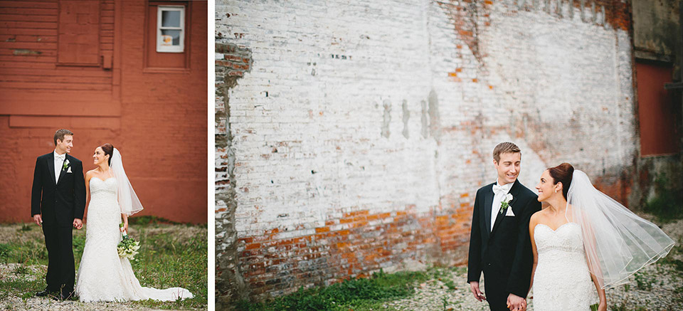 Oregon District Dayton Ohio Wedding Photographers