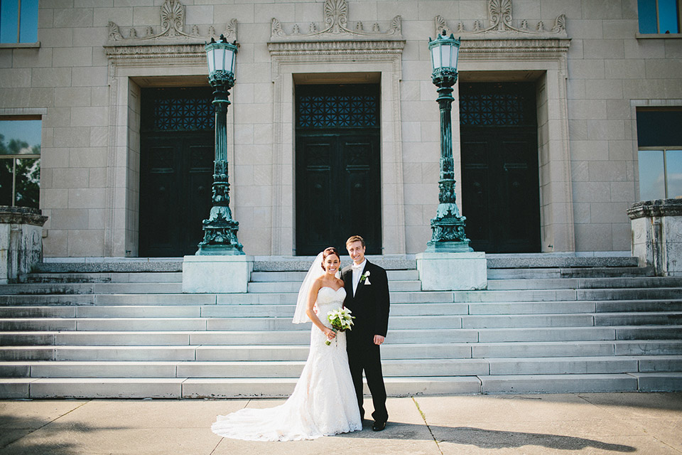 Dayton Masonic Center Wedding Photography