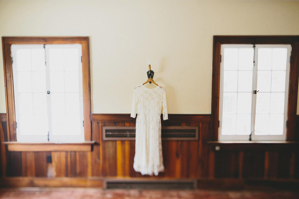 Birch House Rustic Wedding Dress