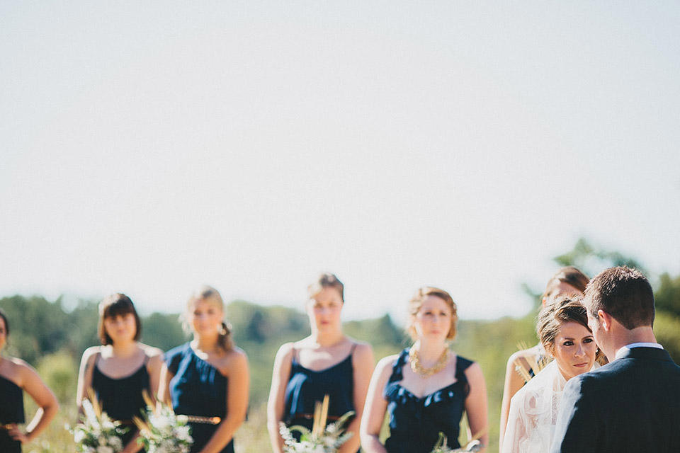 Faust Park Saint Louis Rustic Outdoor Wedding Ceremony
