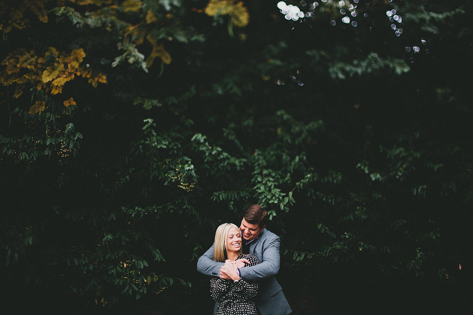 Mount Adams Cincinnati Engagement Session