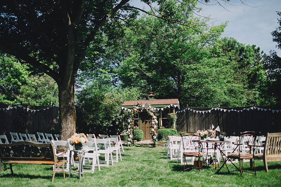 English Garden Wedding in Ohio