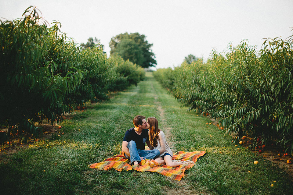 The Brauns Engagements 03 Peach Orchard St Louis.jpg