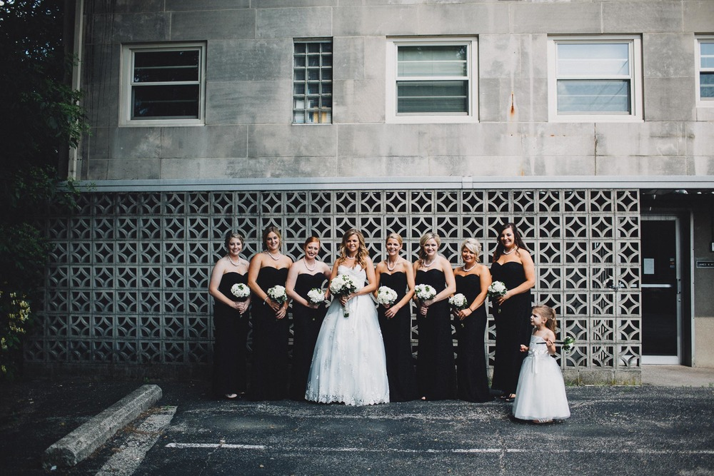 Urban Bridesmaids Photo Black Tie