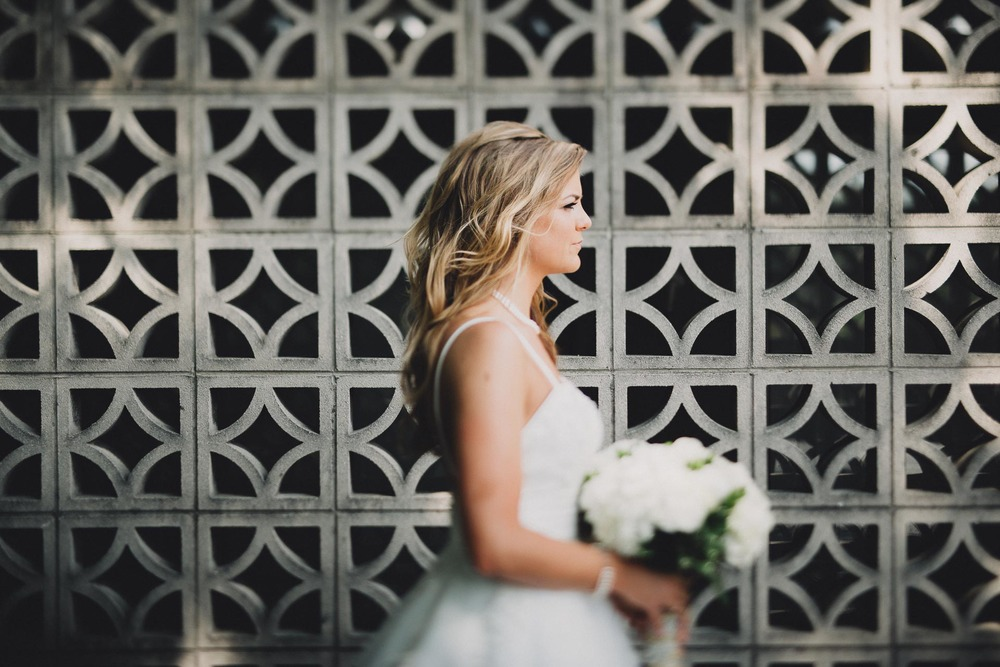 Stunning Bridal Portrait Columbus Ohio Wedding