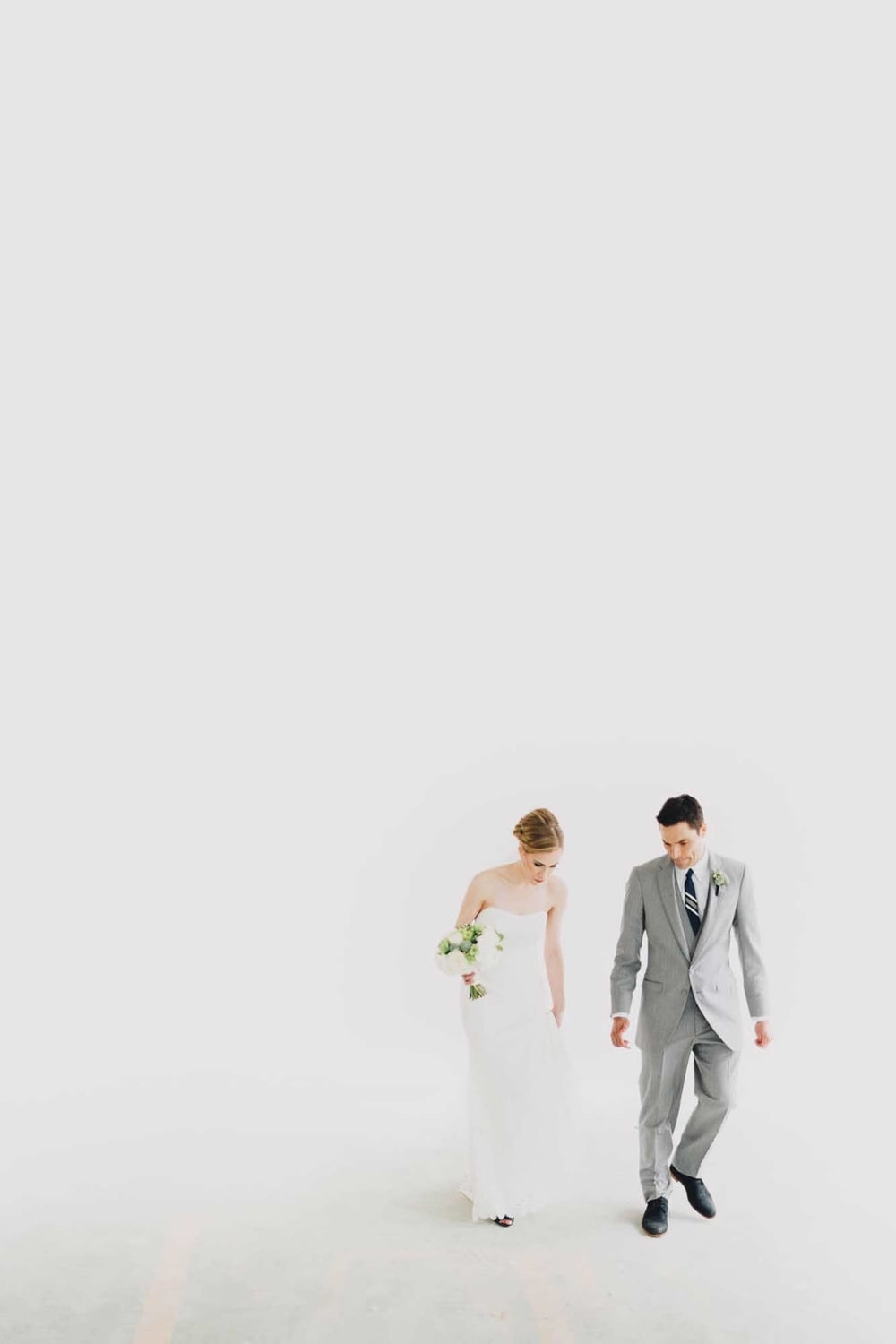 Clean, Minimalist Wedding Portrait - Cincinnati Ohio